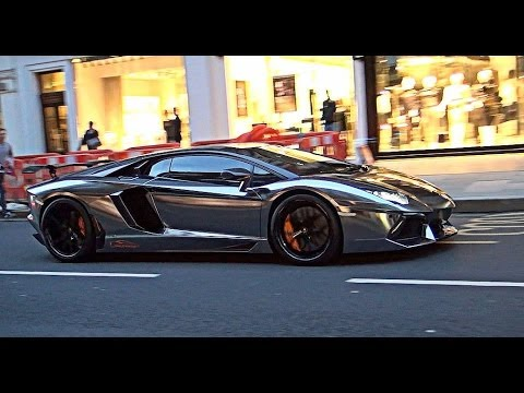 black chrome lamborghini aventador flame youtube. Black Bedroom Furniture Sets. Home Design Ideas