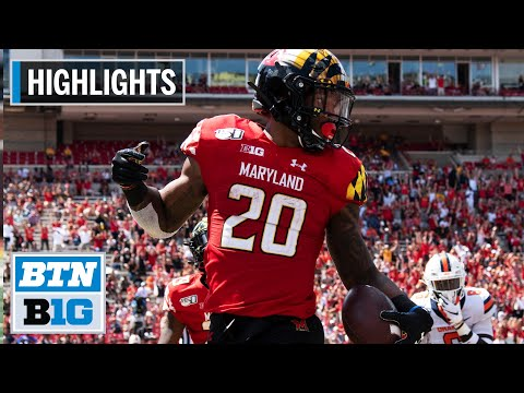 highlights:-javon-leake-declares-for-2020-nfl-draft-|-maryland-|-b1g-highlights