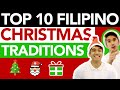 Top 10 Filipino Christmas Traditions