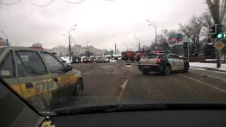 Как в Минске убирают снег с улиц
