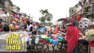 Vendors Wait For Customers At Bhadra Fort Market : Ahmedabad