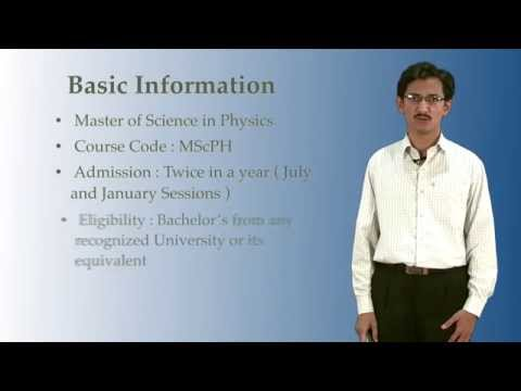 MSc in Physics