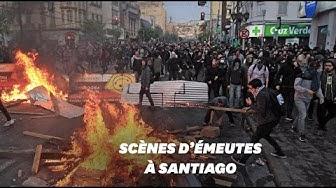 Au Chili, Santiago en proie aux pillages et aux violences