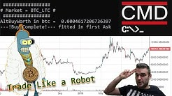 Trade Bitcoin like a ROBOT with my trade bot for Poloniex cryptocurrency exchange!