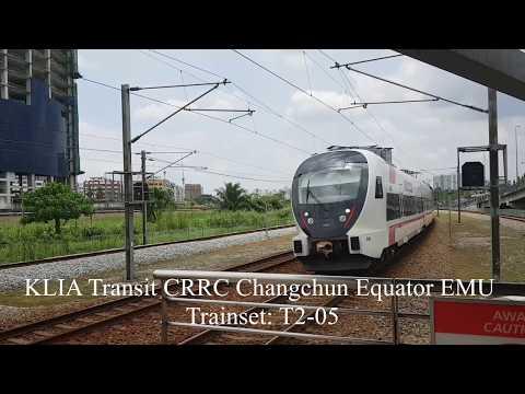 [Trip Report - ERL KLIA Transit] CRRC Changchun Equator EMU (Bandar Tasik Selatan-KL Sentral)