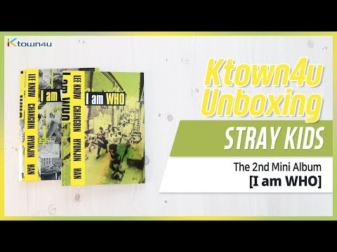 [Ktown4u Unboxing] STRAY KIDS - 2nd Mini [I am WHO] 스트레이키즈 아이엠후 언박싱