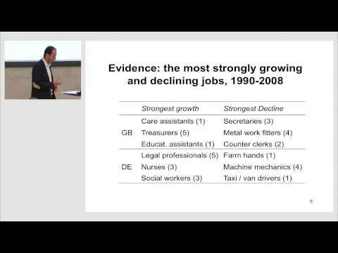 Daniel Oesch: Occupational Change in Europe