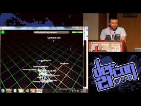 Alex @ DEF CON 21 Web 3.0 Website Mapping and V