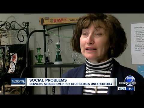 Denver's Second Social Marijuana Consumption Business Shuts Doors Weeks After Opening