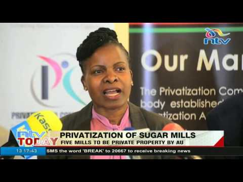 Five sugar mills to be private property by August 2018