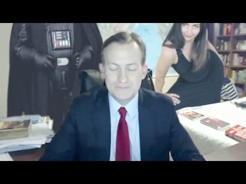 BBC INTERVIEW GOES WRONG: Kids, Darth Vader & JCVD crash BBC interview with Shooting Stars Meme !