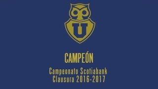 Video RESUMEN CAMPAÑA  - U DE CHILE CAMPEON TORNEO DE CLAUSURA 2016/2017 download MP3, 3GP, MP4, WEBM, AVI, FLV Oktober 2018