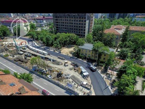 Sofia Metro Line 3, 7 stations | Метродиаметър 3 София, 7 станции, 23.5.2016