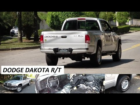 Garagem do Bellote TV: Dakota R/T, a última safra de puros Dodge V8 no Brasil