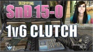 BO2 SnD 1v6 Clutch 15-0 (Facecam)