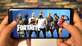 FORTNITE APK on any Android Smartphone! How to Install + Gameplay!!!