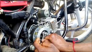 clutch plate change for hero splendor
