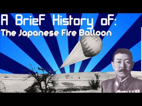 A Brief History of: Japanese Fire Balloons