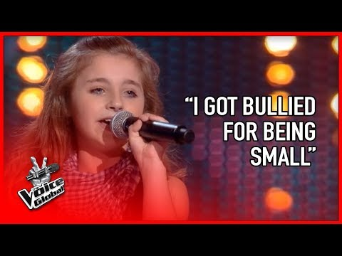 BULLIED KID sings heart out on THE VOICE   STORIES #16