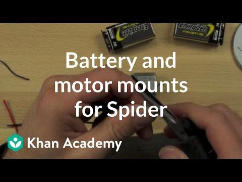 Battery and motor mounts for Spider   Electrical engineering   Khan Academy