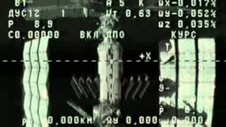 July 31, 2012 ISS_Progress spaceship undocks from ISS for experiment