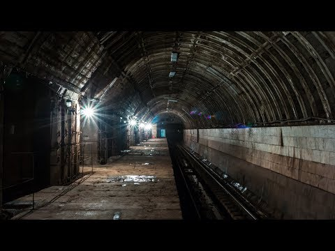 Смотреть Заброшенная станция Метро! Глубокого заложения! От лица диггера! онлайн