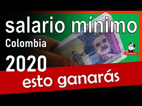 🔺 ¿En cuánto quedó el SALARIO MÍNIMO en COLOMBIA para 2020? ✔