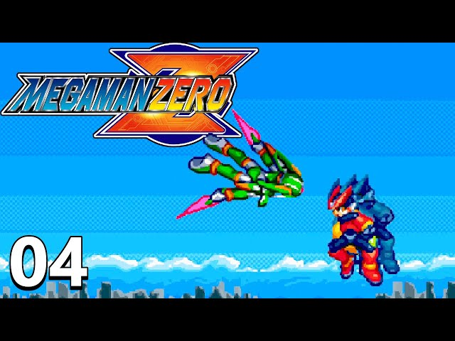 Taking Down Harpunia - Mega Man Zero Part 4