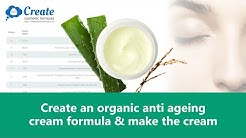 Organic anti aging cream