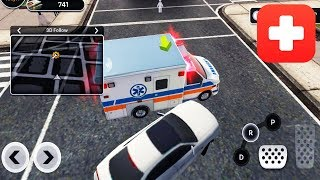 City Ambulance Rescue Rush (Simulator Game by Enjoysports) Android Gameplay Trailer