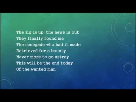 Styx - Renegade W/ Lyrics