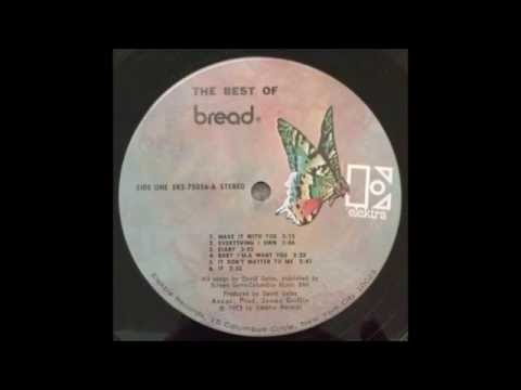 "Bread - ""Make It With You"" - Original LP Version -  HQ"