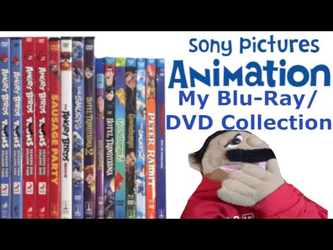 My Sony Pictures Animation Blu-Ray/DVD Collection (Puppet Review)