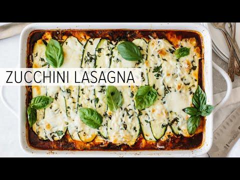 ZUCCHINI LASAGNA | The Best Zucchini Lasagna Recipe