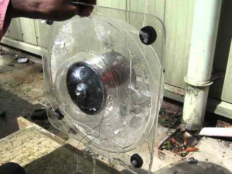 how to make mini hydroelectric generator project