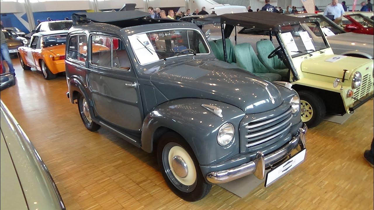 1953 - fiat 500c topolino belvedere - exterior and interior