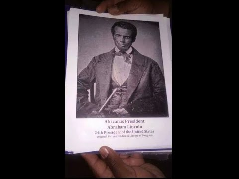 Abraham Africanus Lincoln our 24th President      3:09 sec