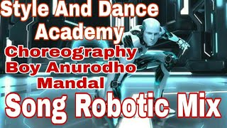 Style and dance group Anurodho mandal (Pakur jharkhand)Song Robot mix