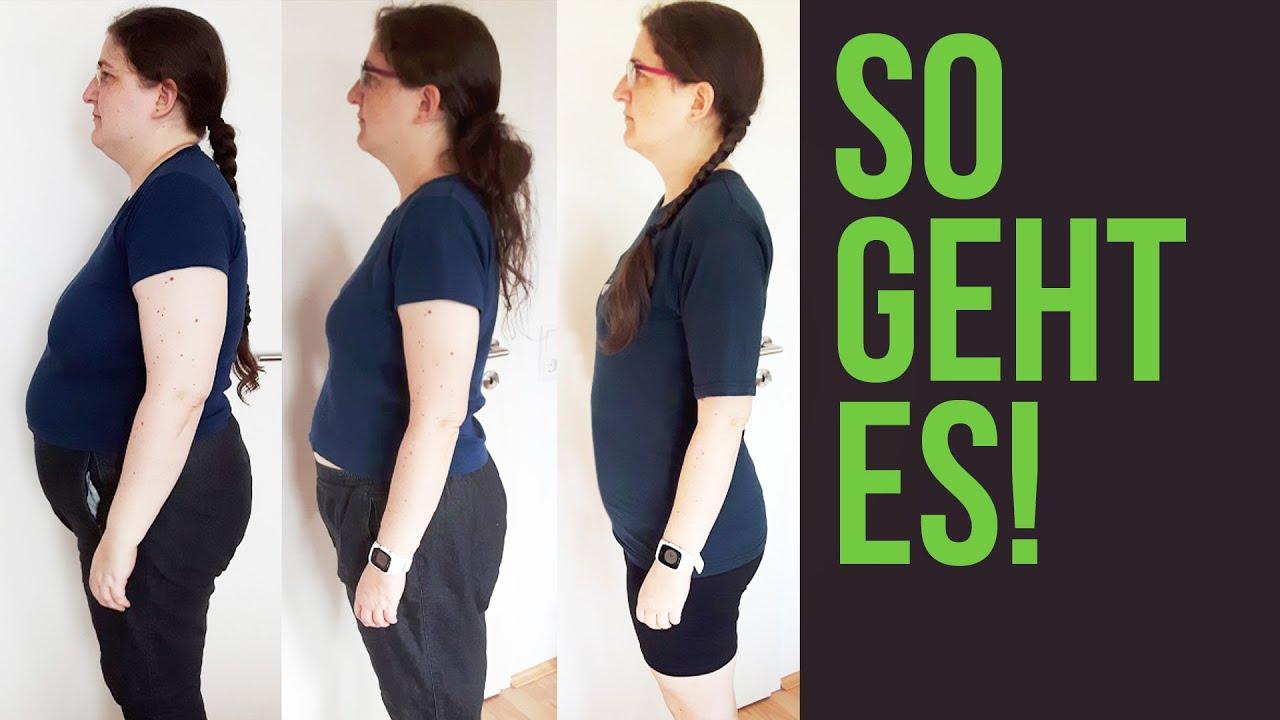 36 Kilo in 2 Jahren abnehmen – So hat sie es geschafft!