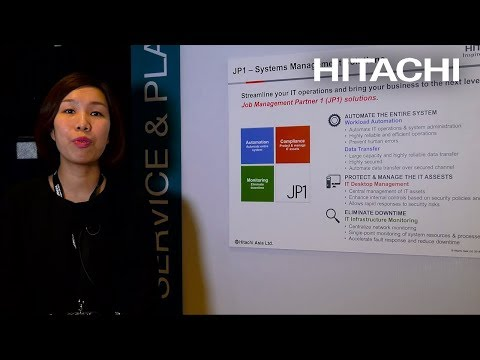 Hitachi JP1 – Systems Management Solutions - Hitachi
