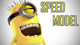 Repeat youtube video [Speed Modeling] The Minion