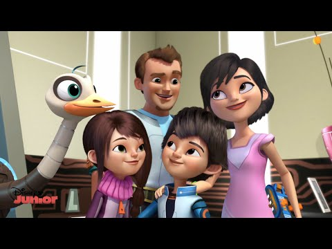 Miles From Tomorrow - Cute Family Moment - Official Disney Junior UK HD