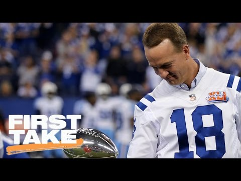 Stephen A. Doesn't Believe Peyton Manning Deserves A Statue | First Take | May 10, 2017