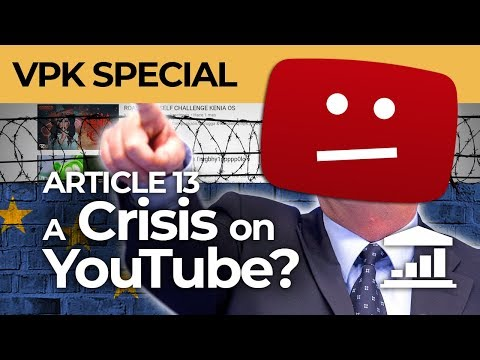 How does ARTICLE 13 affect YOUTUBERS? - VisualPolitik EN Mp3