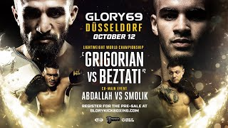 GLORY 69 mit Michael Smolik vs Mohamed Abdallah [Road to 1k] [SPECIAL STREAM]