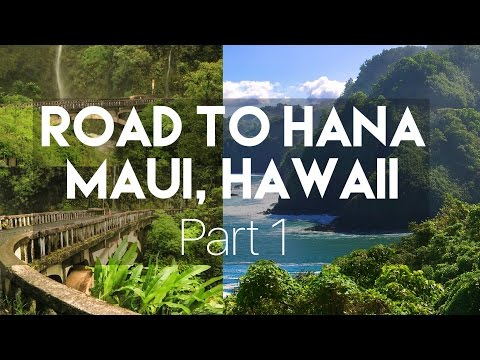ROAD TO HANA // MAUI, HAWAII - Part 1 // MY TRAVEL TOUR GUIDE