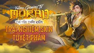 LIÊN QUÂN | Trải nghiệm Skin mới Murad Chí Tôn Thần Kiếm cùng FUNNY GAMING TV