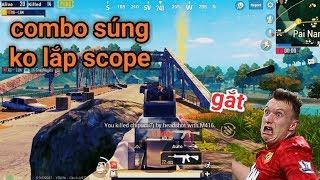PUBG Mobile - Thử Thách Dùng Súng Không Gắn Scope | Solo Squad Cũng Không Khó
