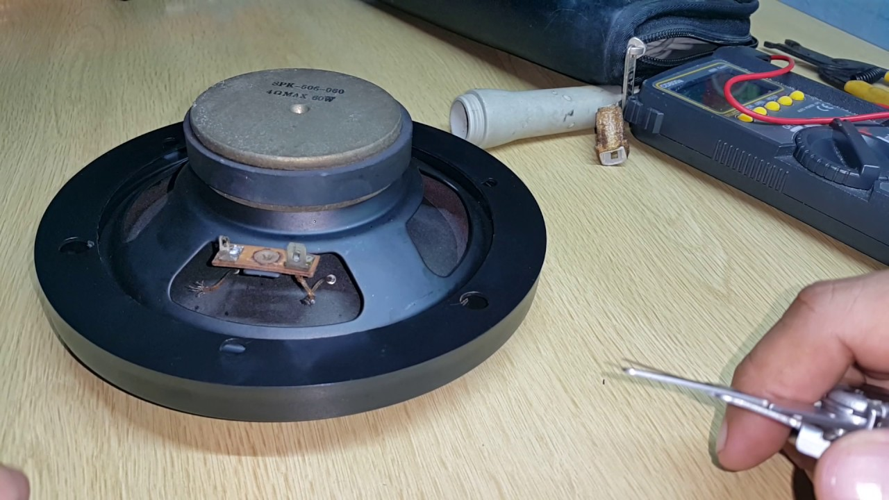 Diy  Speaker Tinsel Wire Replacement P1
