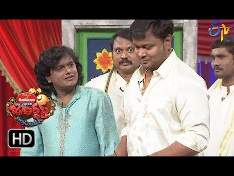 Bullet Bhaskar, Sunami SudhakarPerformance | Jabardasth |  11th January 2018  | ETV  Telugu